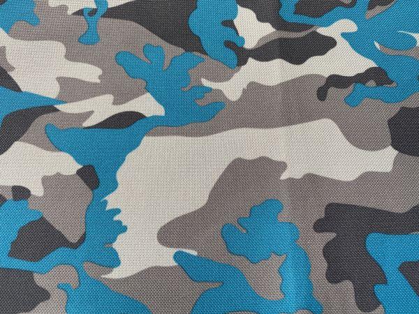 DoggyTourer Camouflage Blau