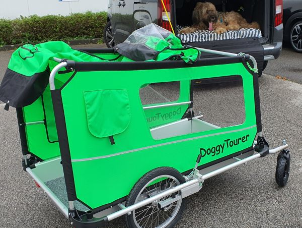 DoggyTourer Grün